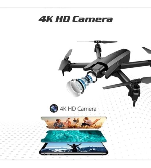 Drone Gw106 Profissional Câmera 4k Hd Duas Baterias 1600mah
