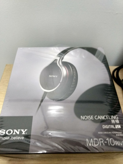 Headphone Sony Mdr-10rnc Active Noise Canceling