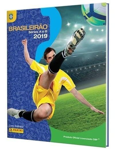 Brasileirão 2019 Album Capa Dura Completo Figurinhas A Colar