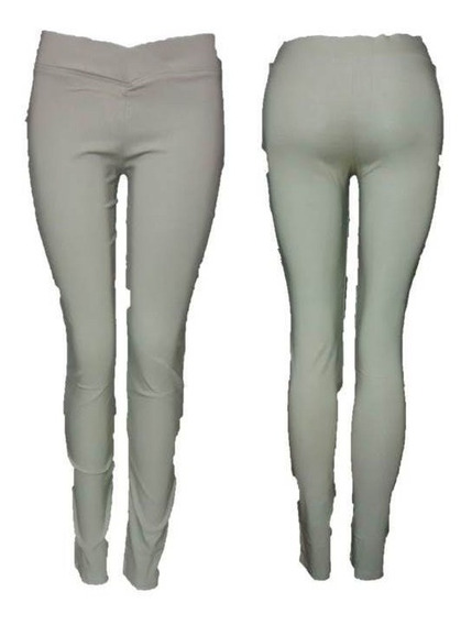 Pantalon Tipo Leggins Tela Gruesa, Pletina Gruesa, Vestir