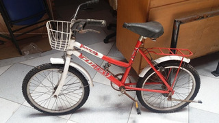 Bici Rodado 20 - Srta. Vintage Con Parrilla Y Canasto