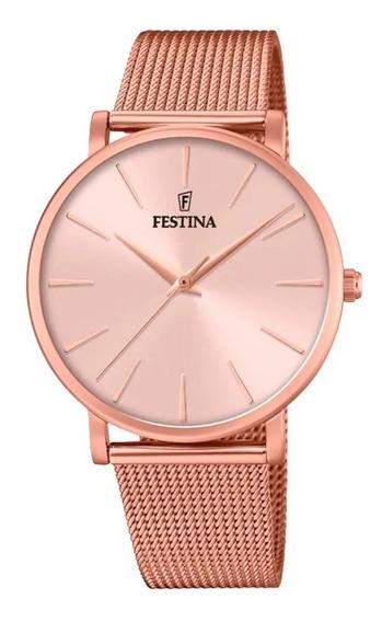 Relógio Festina Feminino Rosé F20477/1