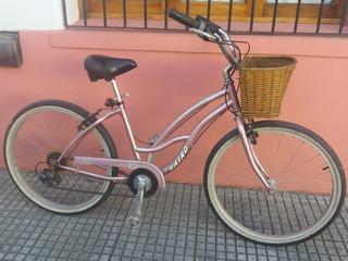 Bicicleta Playera, Vairo, Mujer, Rodado 26