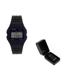 Relógio Casio F91w Com Caixa