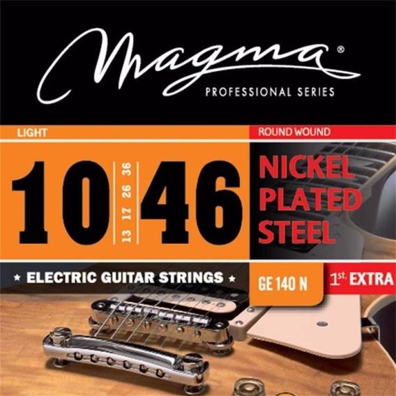 Cuerdas Magma 010 Guitarra Electrica Nickel Ge140n Full