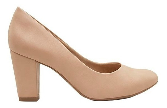 Zapatos Clásicos Mujer Cuero Ecológico Nude Ramarim