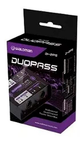 Imagem 1 de 5 de Direct Box Waldman Passivo Duplo Di-2ps Duopass + Nf
