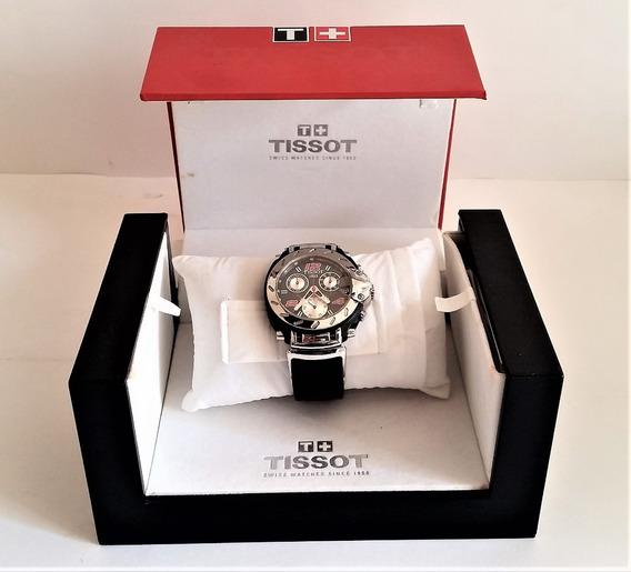Tk0v Relógio Tissot T Race Nascar Com Caixa Original Usado