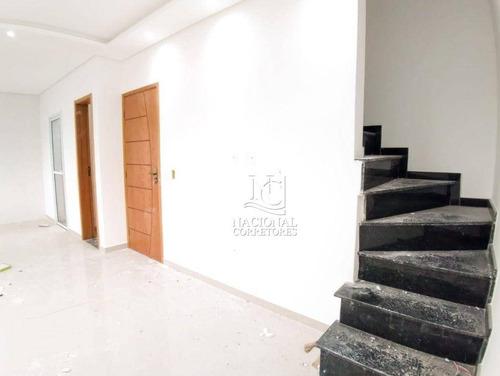 Sobrado Com 2 Dormitórios À Venda, 104 M² Por R$ 530.000,00 - Vila Francisco Matarazzo - Santo André/sp - So4142
