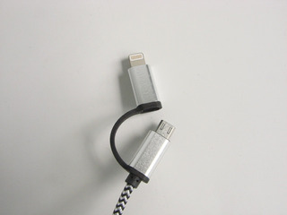 Cable De Carga Rápida Smartphone 2 En 1