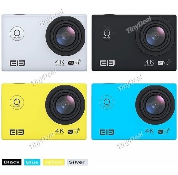 Câmera Elephone Elecam 4k Ideal Para You Tubers