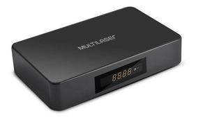 Conversor Digital + Smart Tv Box Plus Multilaser, Preto
