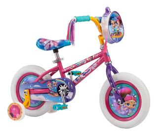 Bicicleta Shimmer N Shine Rosa R 12.