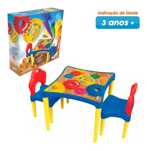 Imagem 1 de 9 de Mesinha Infantil Com Cadeiras Oficina De Criações Xalingo