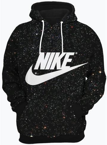 Casaco De Frio Nike, Casaco Estampado Com Capuz