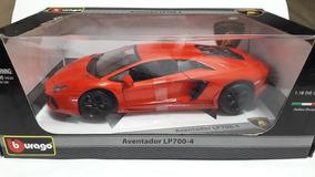 Miniatura Da Lamborghini Aventador Lp700-4 Burago