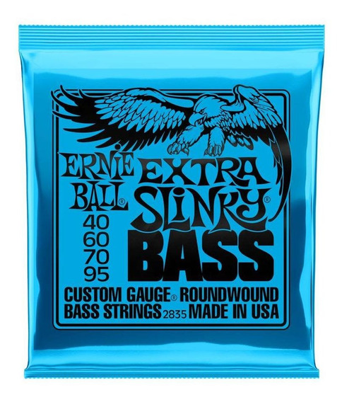 Encordado Para Bajo Ernie Ball P02835 Slinky Nickel Wound
