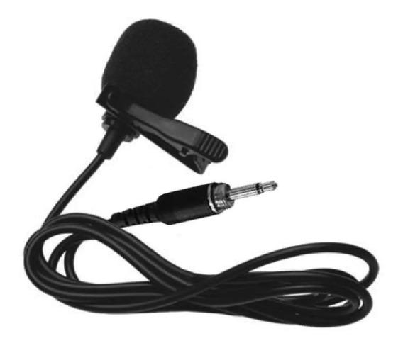 Microfone Lapela Ksr Rosca P2 Reposiçao Lyco Karsect = Lt4a