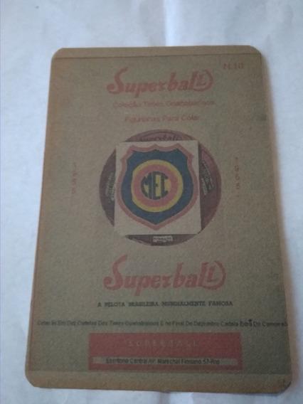 Álbum Superbal -cartela N* 10 -madureira -década 50 Completa