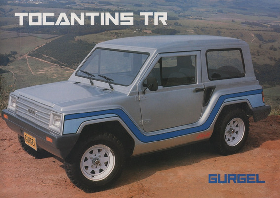 Folder Catálogo Folheto Gurgel Tocantins Tr (gg001)