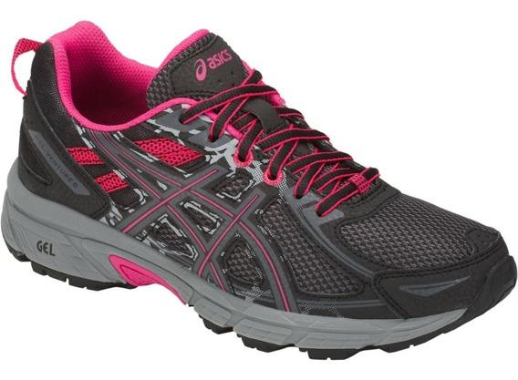 Asics Gel Venture 6 Mujer Running Correr Entrenamiento Gym
