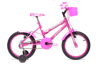 Bicicleta Aro 16 - Infantil - Cairu - Rosa