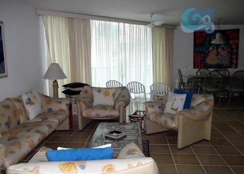 Imagem 1 de 11 de Apartamento Residencial À Venda, Praia Da Enseada - Hotéis, Guarujá - Ap1273