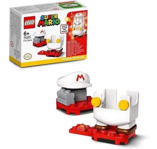Brinquedo Lego Mario Bross Power Up De Fogo Original