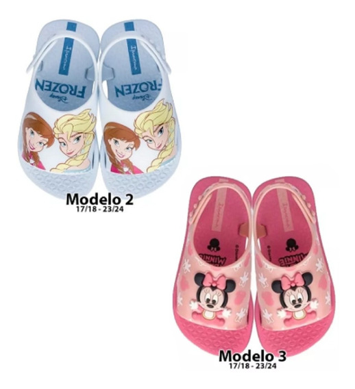 Sandalias Frozen Minnie Woody Disney Ct Mmk Sandfmw