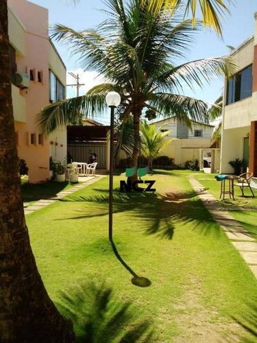 Village Com 3 Dormitórios( 3 Suítes)à Venda, 80 M² Por R$ 300.000 - Praia Do Flamengo - Salvador/ba - Vl0133