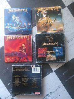 Megadeth Cds Box Set The Originals
