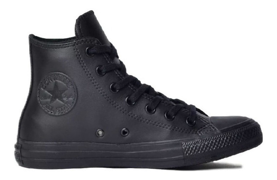 Tênis Converse All Star Ct As Preto Hi Couro Ct08250002