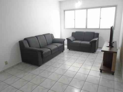 Apartamento Com 2 Dormitórios À Venda, 102 M² Por R$ 450.000,00 - Pompéia - Santos/sp - Ap3843