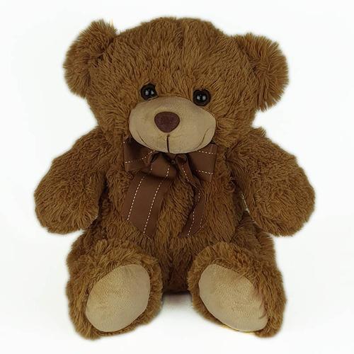 Urso De Pelúcia 35cm Marrom