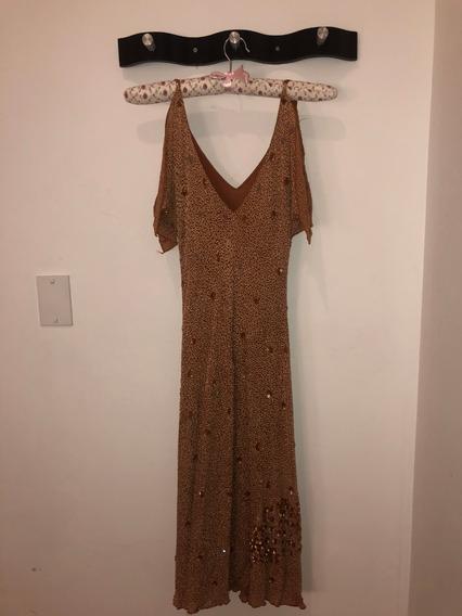 Vestido De Fiesta Bordado Sathya