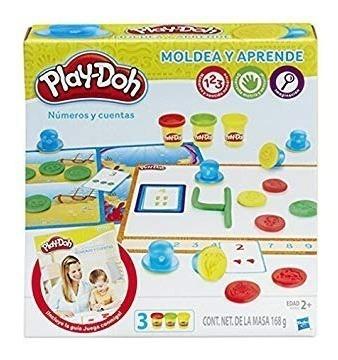 Play Doh Masa Números Y Cuentas Aprende B3406 Hasbro