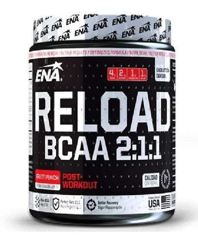 Reload Bcaa 2:1:1 Ena Mundo Gym