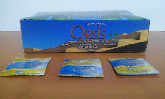 Condón Masculino Natural Marca Oasis 200 Pzas