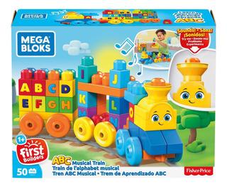 Mega Bloks Tren Abc Musical De Construcción