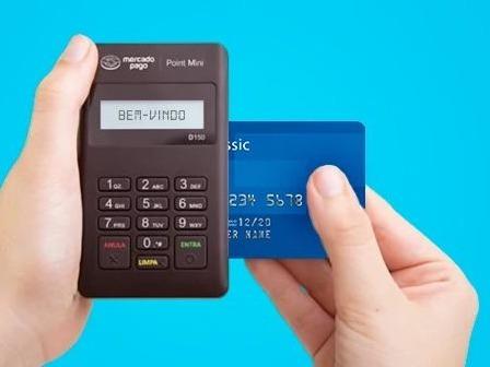 Maquininha Maquina De Cartão Débito Crédito Frete Gratis