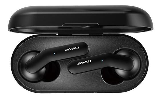 Fone De Ouvido Redução De Ruído Hifi Awei T10c Bluetooth