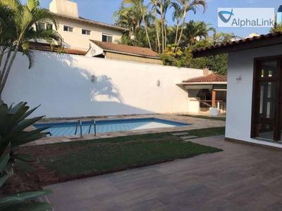Casa Com 4 Dormitórios Para Alugar, 400 M² Por R$ 8.000/mês - Alphaville Residencial Dois - Barueri/sp - Ca0732