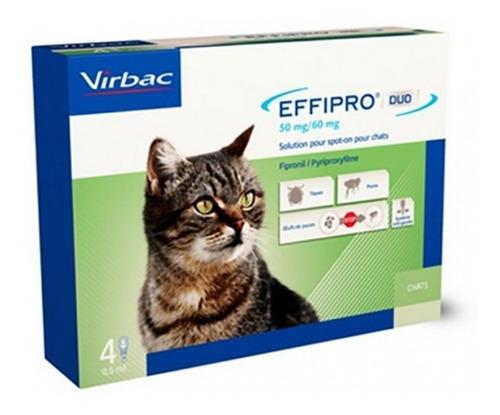 Effipro Duo Kitten Gato 1-6kg 2 Pipetas Antipulgas Garrapata