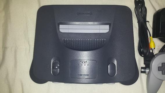 Nintendo 64 + Super Mario 64 +1 Controle,,,,,,,,