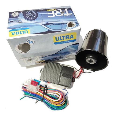 Alarma Ultra Trf, Se Adapta Al Control Original Del Auto
