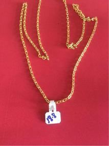 Corrente Ouro 18k/750 Modelo Cartier Com 18.8 Gramas ......