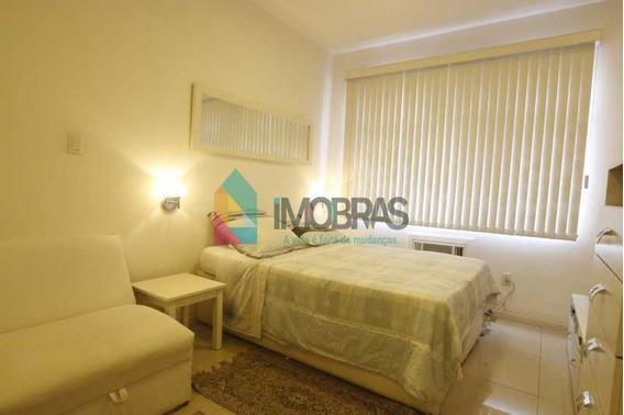 Apartamento Conjugado Todo Decorado É Mobiliado Porteira Fechada Em Copacabana!! - Cpki10125