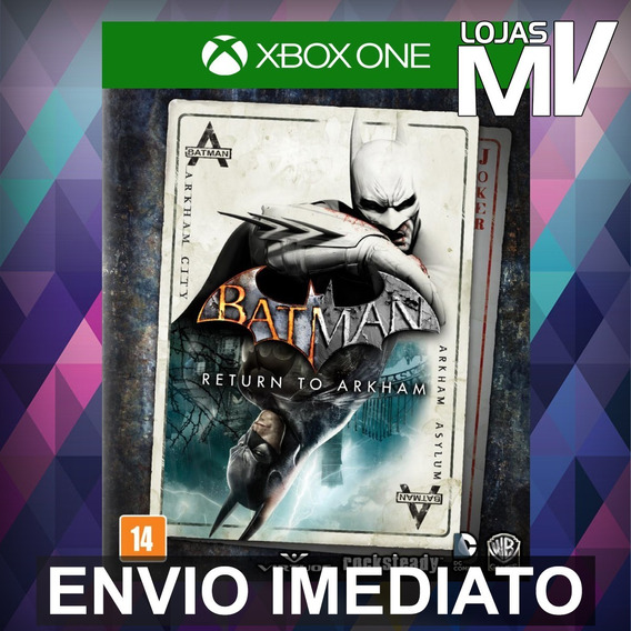 Batman Return To Arkham - Xbox One Código 25 Dígitos