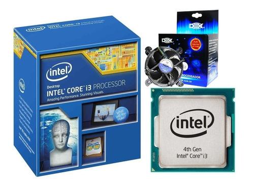 Imagem 1 de 6 de  Core I3 4150 3.5ghz Lga1150 4ªgeração C/ Cooler