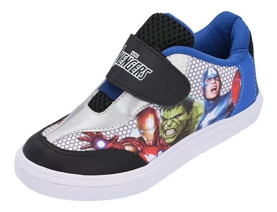 Tênis Infantil Personagens Avengers Vingadores